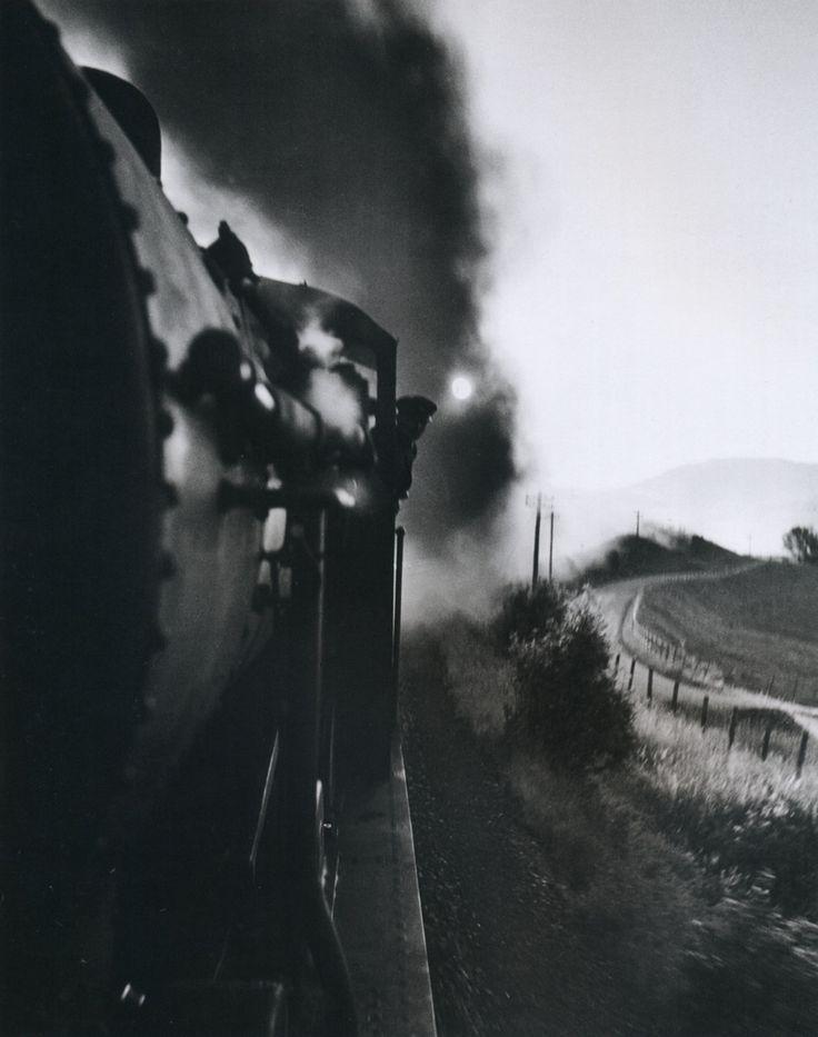 Wolf Suschitzky: Steam Locomotive. Scotland, 1943. From Wolf Suschitzky: Photos.