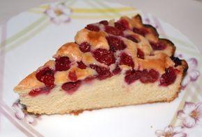 Пирог с вишней на скорую руку / Простые рецепты