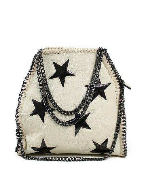 Τσάντα ώμου stars - Λευκό 39,99 €