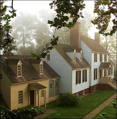 Christmas Trees, the Confederacy, and Colonial Williamsburg (St. George Tucker House)