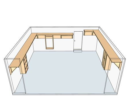 High shelving plan for garage                                                                                                                                                                                 More