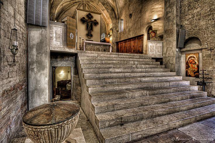 Abbey of Saint Eutizio, Preci, Umbria, Italy