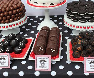 A Bowling Birthday Party Kids Will Love: Just Desserts (via Parents.com)