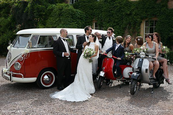 Gary and Heather's vintage travel wedding at Maunsel House, Somerset www.maunselhouse.co.uk