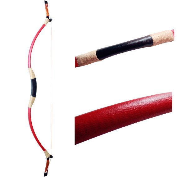 Handmade Leather longbow Mongolian bow Traditional by MAYARMS Get traditional archery from https://www.etsy.com/shop/ArcherySky