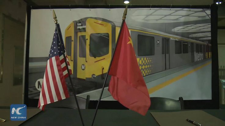 Los Angeles County Metropolitan Transportation Authority joined China Railway Rolling Stock Corporation, or CRRC, in a signing ceremony this Wednesday at the Union Station, to mark the start of a $178 million dollar, 64 rail car purchase for LA County subway system.