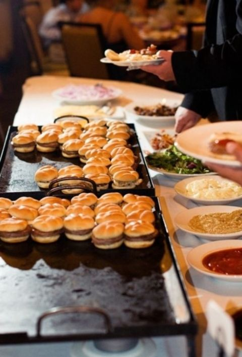73 Awesome Wedding Food Bars You'll Love | HappyWedd.com  Again for the kids