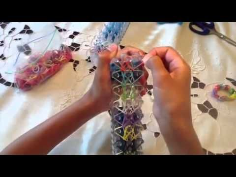 Double X Rainbow Loom Bracelet