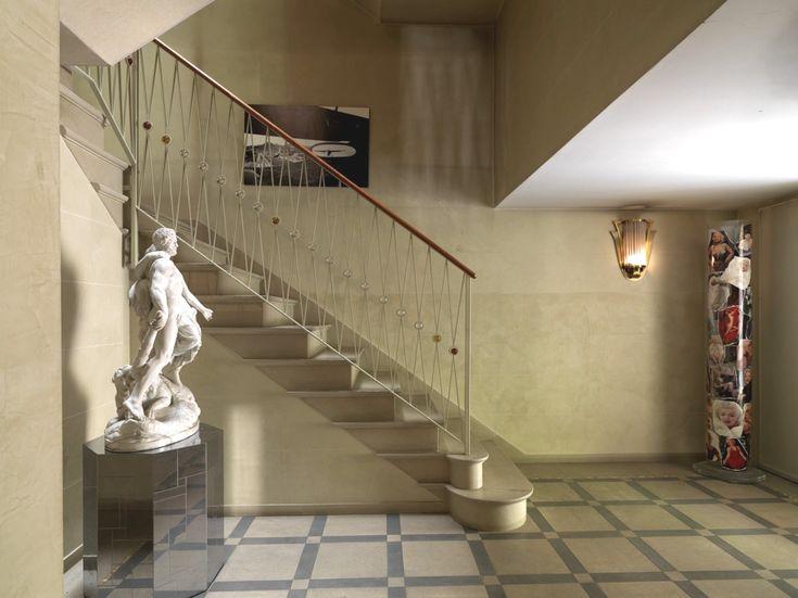 Santo Versace's luxury house, Milan...