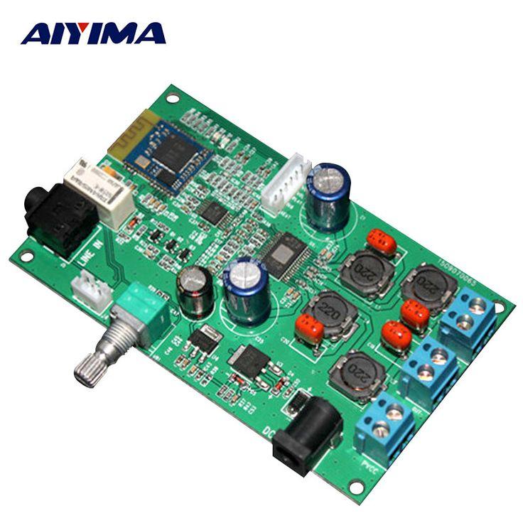 TPA3116 50W*2 High Power Digital Amplifier Board CSR8635 Bluetooth(4.0) module Tone Finished Board #Affiliate