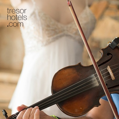 Trésor Hotels & Resorts_Luxury Boutique Hotels_#Greece_  In Ios Palace the highly professional wedding planning services, our chef's exceptional menu suggestions and the prime location of our hotel compose the perfect ingredients for a dreamy wedding.