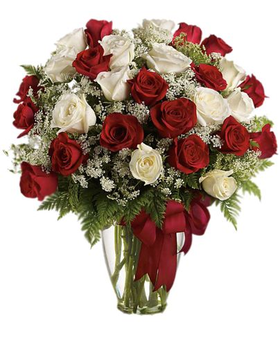 Awesome Loves Divine Bouquet Love And Roses Are Too At Almost Two Feet Tall This Beautiful Mix Of Red White