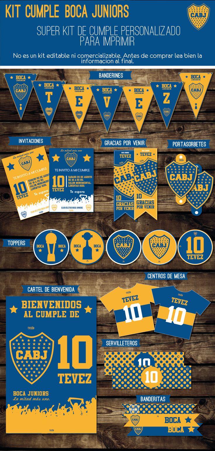 #BocaJuniors #kitboca #boca #kitCumple #decoracion #cumpleaños #imprimible #fiesta #banderines #invitaciones #diseño #tarjetas #invitaciones #papeleria #postercumple #candybar #toppers #futbol #ideas #kitfutbol #kitbocajuniors #kittevez