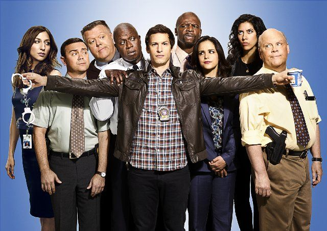 Brooklyn Nine Nine! LOVE this show! Can't wait for the new season to begin!!