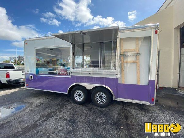 Turnkey Mobile Ice Cream Business 2 Rolled Ice Cream Concession Trailers For Sale In Florida In 2020 Ice Cream Business Concession Trailer For Sale Trailers For Sale
