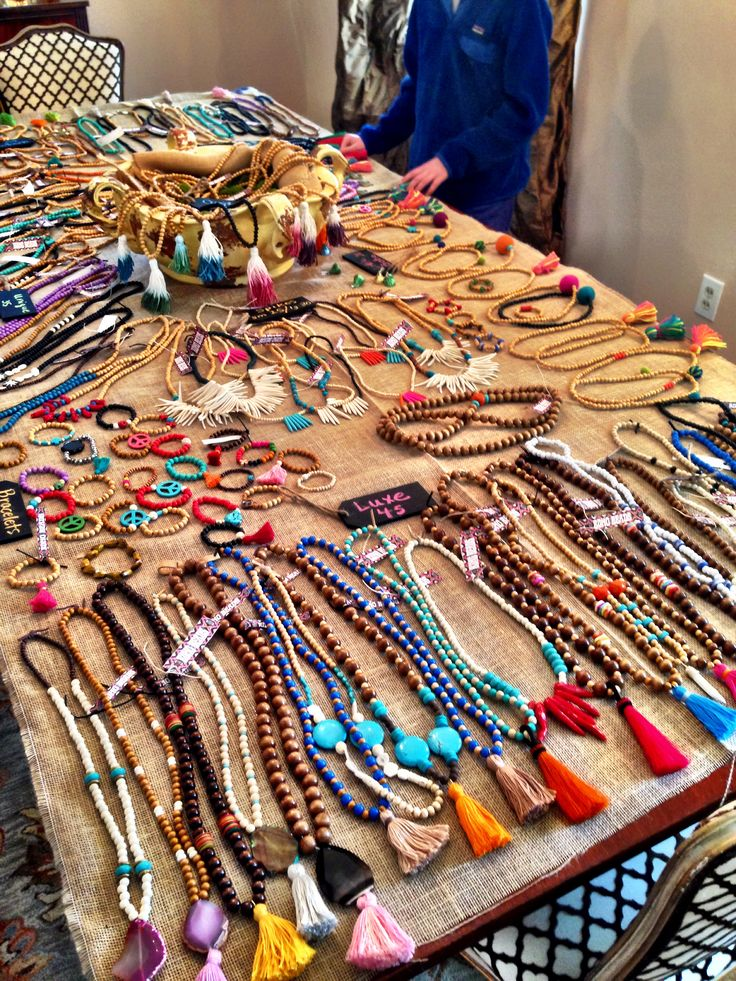 Boho trunk show! @Stephanie Close Close Close Fredin