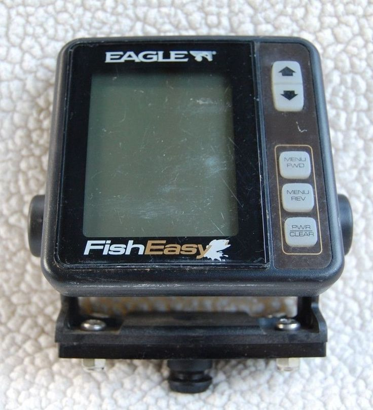 eagle fish easy fisheasy fish finder head unit only