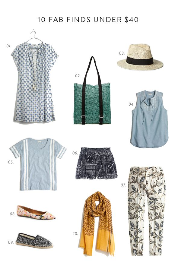 fab finds for summer under $40!