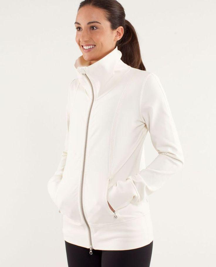 Lululemon Daily Yoga Jacket Polar Cream Size 8 EEUC #Lululemon #CoatsJackets