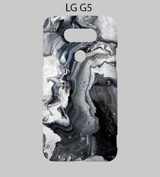 Grey Marble Art Smoke LG G5 Case Cover