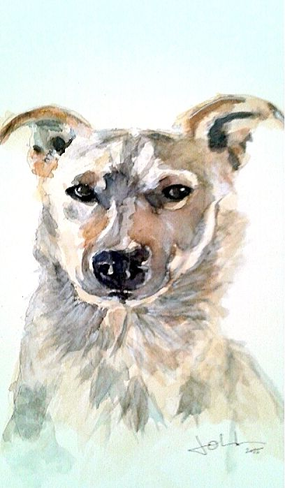 A dog friends Aquarelle XL Canson, 300g A3