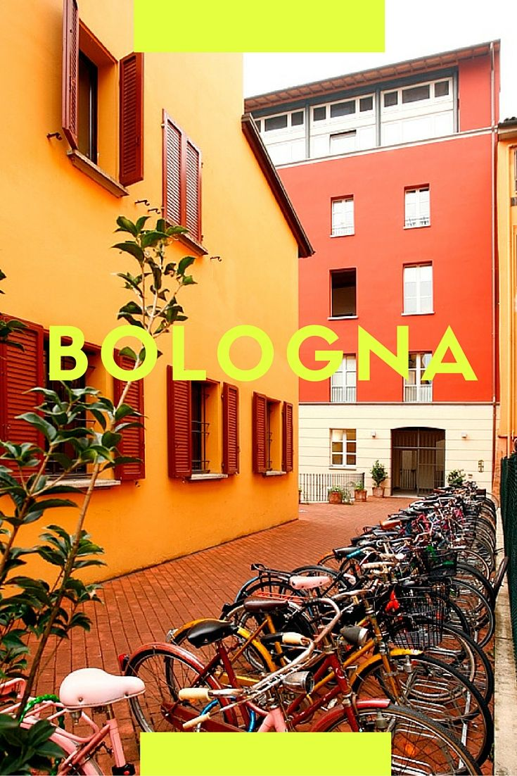 """The city of Bologna, known also as """"The city of young people"""", has always been the university pole par excellence."""