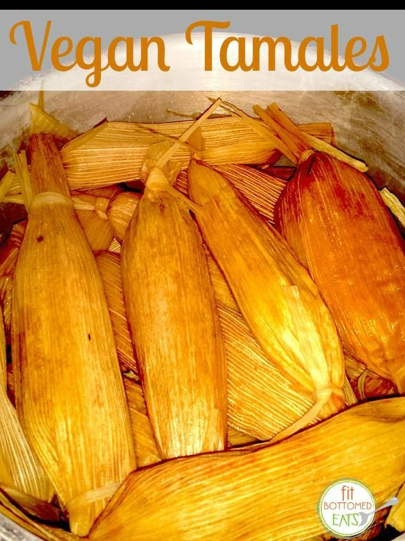 Tamales without the lard (and vegan)!