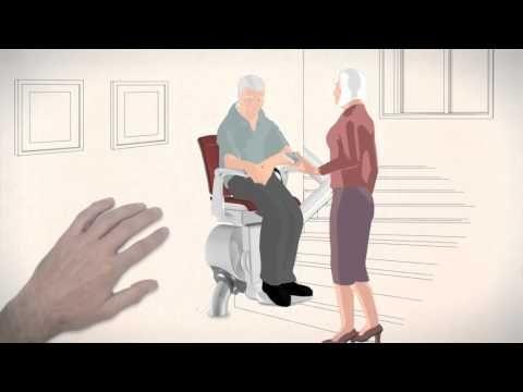 Sedia per scale, saliscale, servoscala, montascale - per disabili e anziani Otolift
