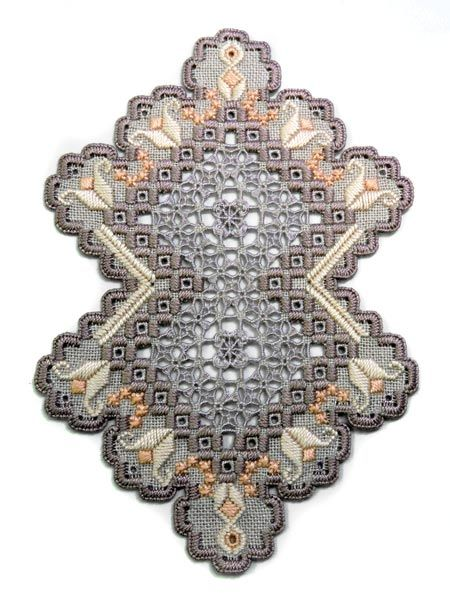See the pretty Legado (Hardanger embroidery) at Nordic Needle