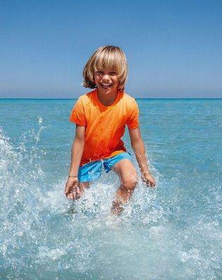 Protezione solare dei bambini