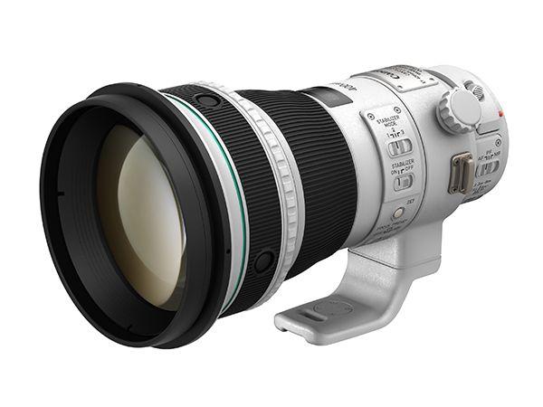 """キヤノン:新開発の密着2層型回折光学素子を搭載した超望遠レンズを発売 高画質と小型・軽量設計を両立した""""EF400mm F4 DO IS II USM"""""""