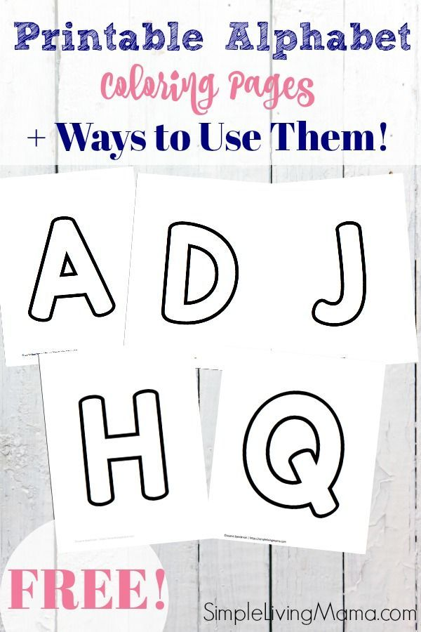 Free Alphabet Printable Coloring Pages Alphabet Coloring Pages Alphabet Printables Abc Coloring Pages