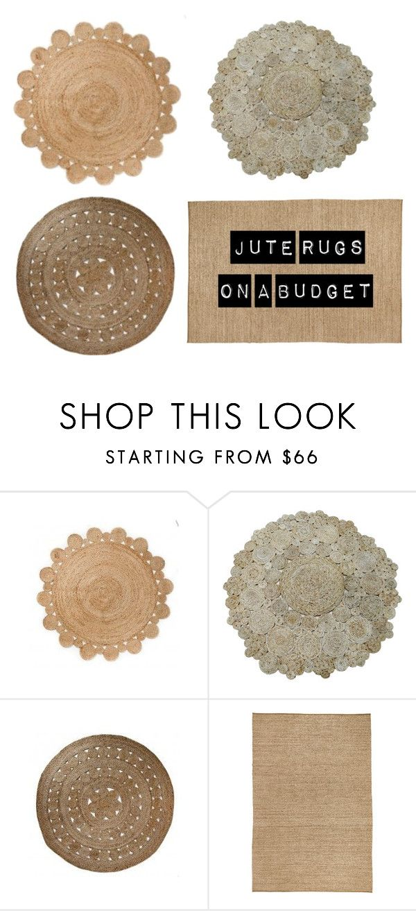 """""""// JUTE RUGS"""" by houseamour on Polyvore featuring interior, interiors, interior design, home, home decor, interior decorating, spotlight, ikea and adairs"""