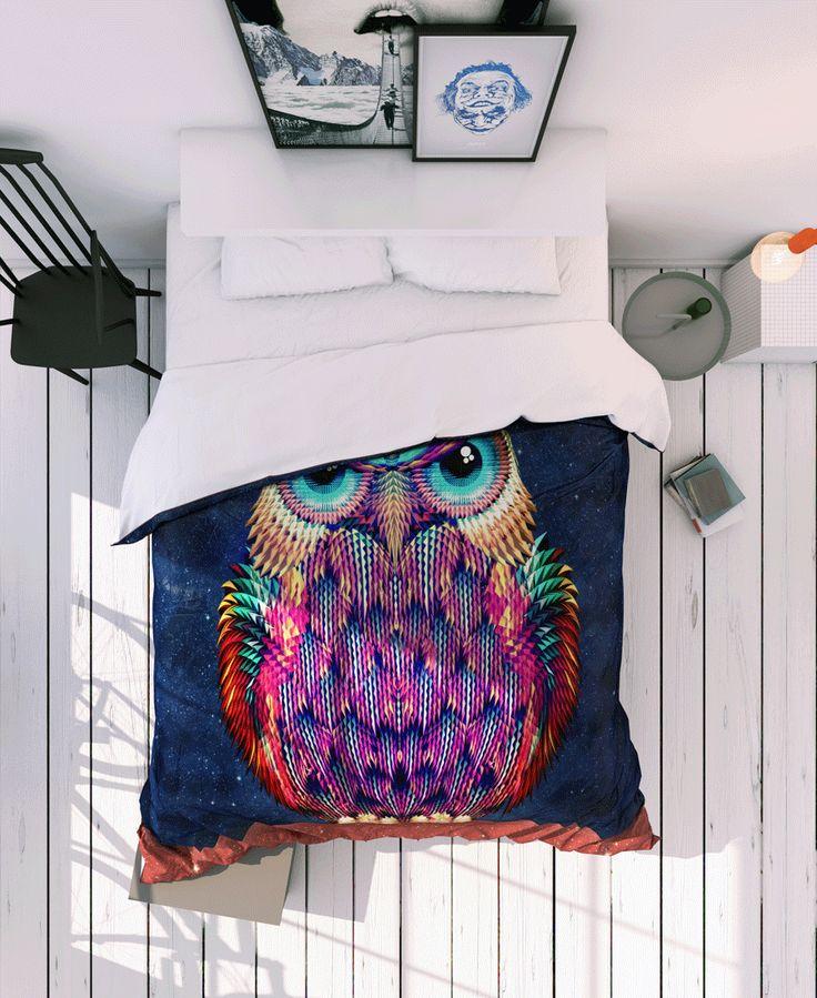 Owl 2 of Ali Gulec now on JUNIQE!