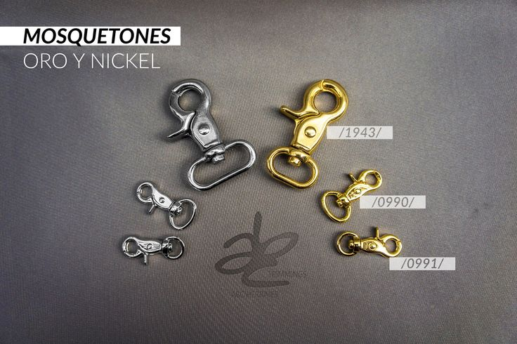 No te preocupes por el tamaño, nuestros herrajes se ajustan a cualquier tipo de diseño.  Visítanos en: www.abcherrajes.com  Escribenos a: ventas@abcherrajes.com arte@abcherrajes.com informacion.abc01@gmail.com  almacenbogota@abcherrajes.com  #ABCHerrajes #fashion #life #stylish #ColombianDesigners #Designs #Moda #Marroquinería #artwork #irondesign #Herrajes #Mosquetón #Nickel #gold #Estilo #Jewelery #Pretty #Styling #menstyle #clothes #InStyle #LeatherGoods #DogClips #Nicelook #Nice…