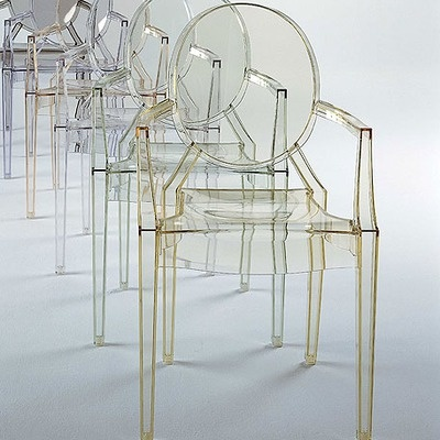 louis ghost arm chair philippe starck happy and classic. Black Bedroom Furniture Sets. Home Design Ideas