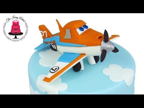 Learn how to make a 3D plane out of gumpaste. I had so much fun making Dusty the Plane. Watch this video and see how a I made him! I made Dusty the Plane fro...