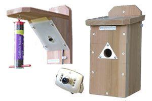 Discovery nestbox & feeder cam system