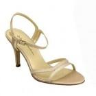 Gold bridesmaid shoes