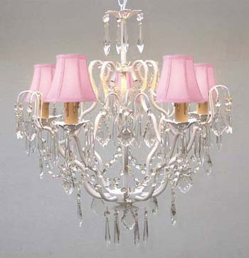 Chandelier Little Girls Rooms