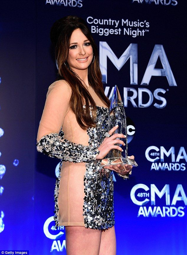 Wardrobe malfunction: Kacey Musgraves ended up having to take to the Country Music Awards stage commando on Wednesday evening