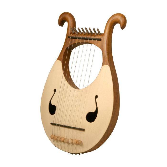 Lyre Harp, 8 String    The King loves music:)