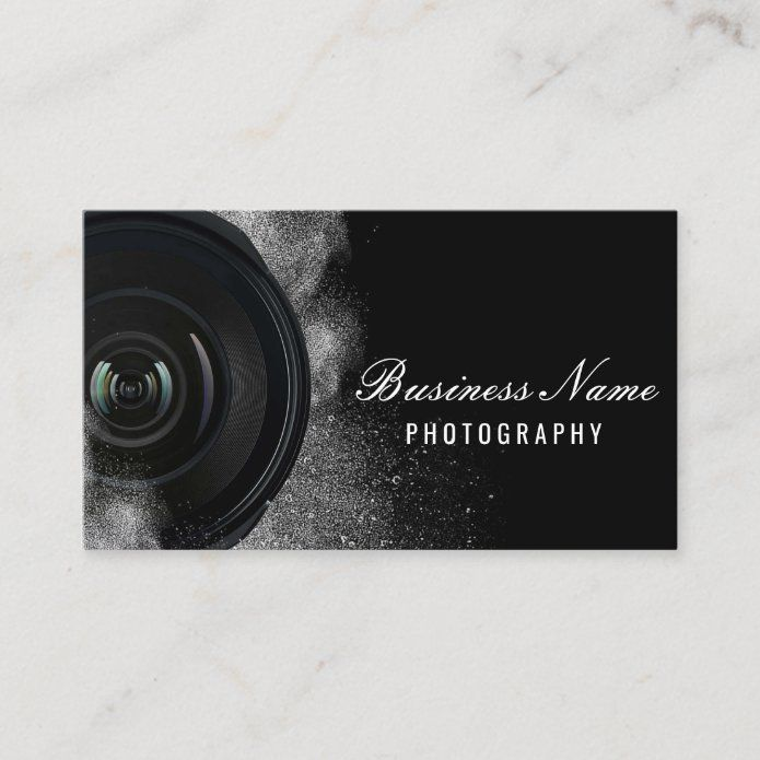 Photographer Camera Black White Photography Business Card Zazzle Com In 2021 Photography Business Cards Business Card Photographer Photography Business Cards Template