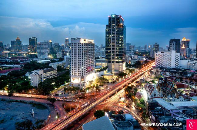 Một góc thủ đô Bangkok