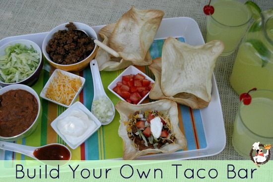 Build your own Taco Bar