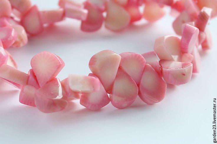 Купить КОРАЛЛ  КУСОЧКИ  № 55- 148 - розовый, коралл, кораллы, камни, камни для…
