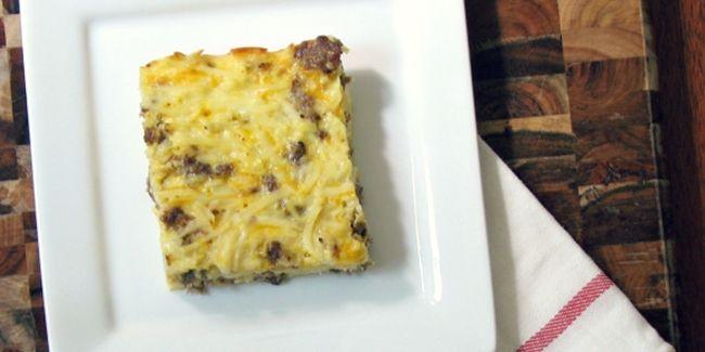 Casserole ini bisa jadi menu sarapan yang lezat lho.