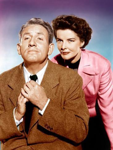 spencer tracy and katharine hepburn | ADAM'S RIB, from left: Spencer Tracy, Katharine Hepburn, 1949 Photo at ...