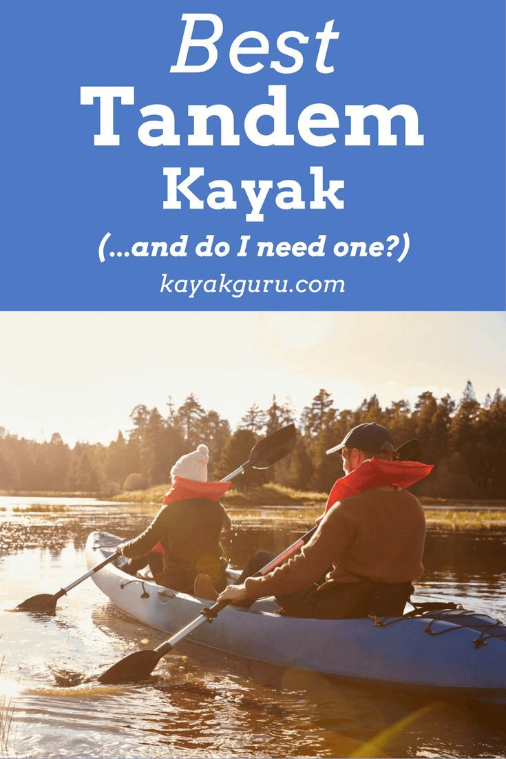Best Tandem Kayak. In this article, we run through the characteristics of a 2-person kayak, the pros and cons of using one, and list a comparison and review of the most popular tandem yaks on the market to buy today.