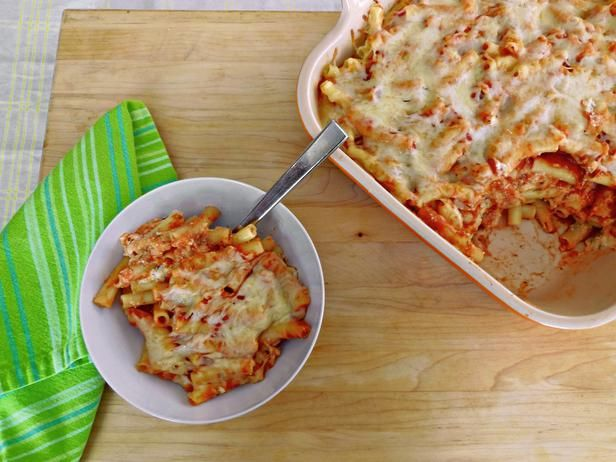 Better-for-You Baked Ziti from @Food Network's Healthy Eats